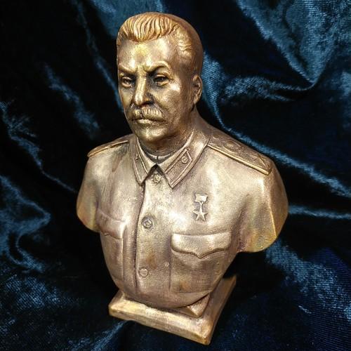 スターリン胸像 高さ14.5cm