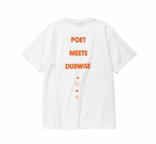 【40%OFF】POET MEETS DUBWISE / LOGO TEE