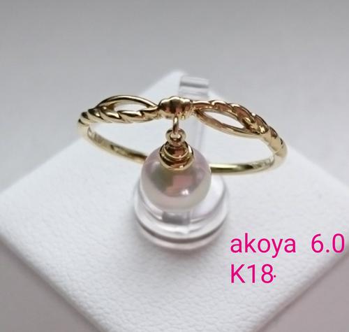 akoyaリング  〜すうぃんぐ〜*5119*