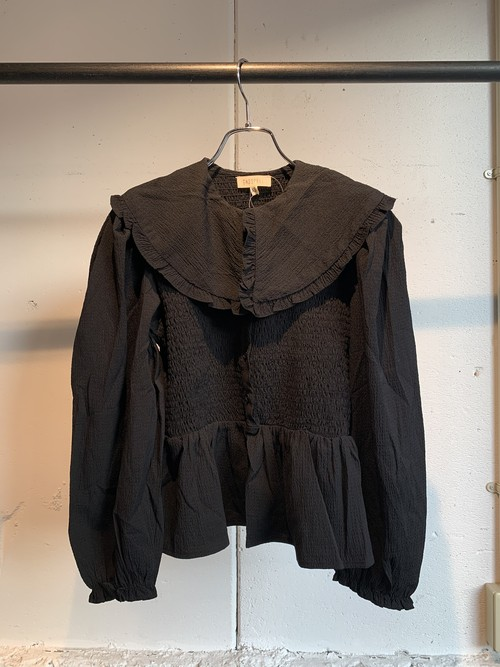GHOSPELL Cast List Collar Blouse