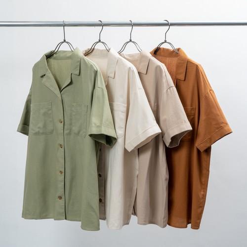 オープンカラー半袖シャツ FLH70000