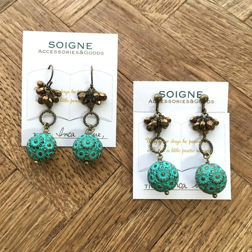 SOLD OUT*Inca Blue【ピアス/イヤリング】