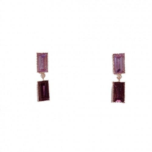 Crystal Square/Purple
