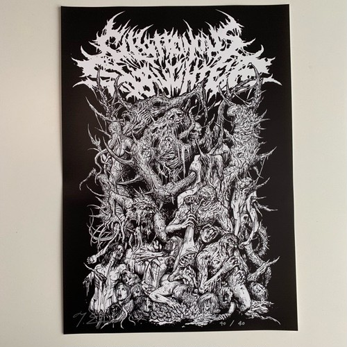 【limited edition】Gluttonous Creatures Poster
