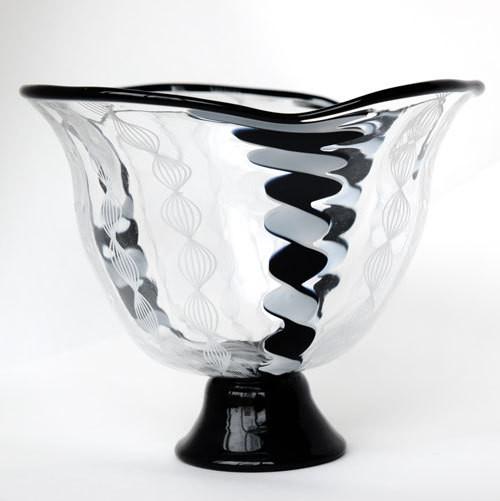 レース小鉢(黒)