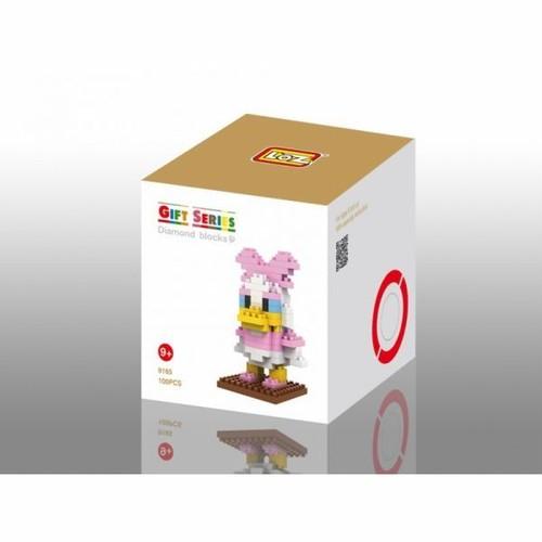 LOZ 9165 ダイヤモンドブロックス デイジーダック / Diamond blocks Daisy Duck 1個/100pcs