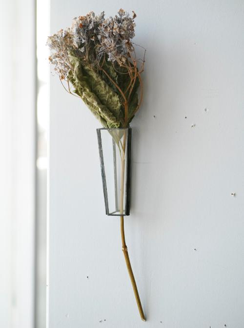 植物器:trapezium vase〚紫陽花 パープル〛