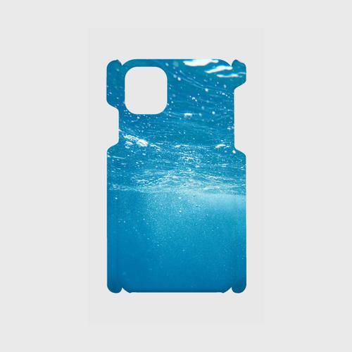 青い海iPhone11ケース
