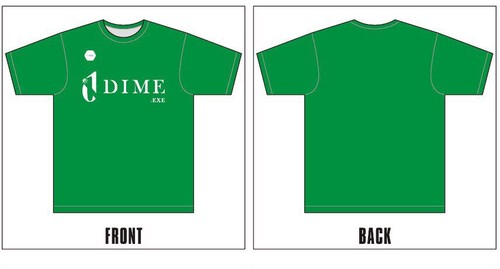 TOKYO DIME ユニフォームロゴTシャツ GREEN