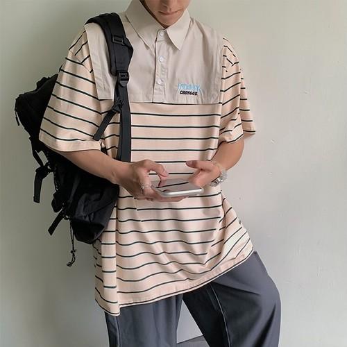 ドッキングボーダーポロシャツ BL8881