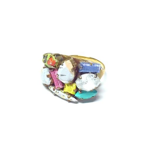 Snack Jewel Contemporary リング L