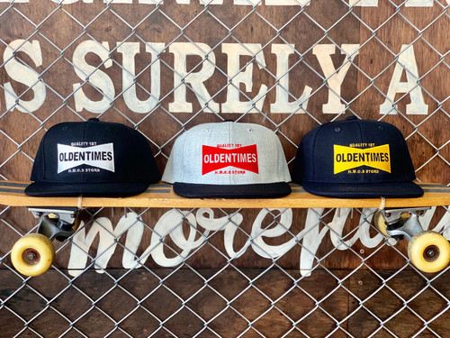 【新作/3色展開】BOX LOGO EMB SNAP BACK CAP