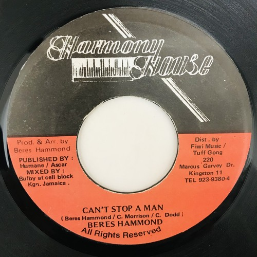 Beres Hammond - Can't Stop A Man 【7-10943】