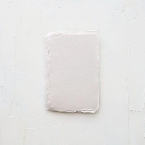 ハンドメイドペーパー オフホワイト 3枚/Off White Extra Small Sheets - 7.6×12.7㎝