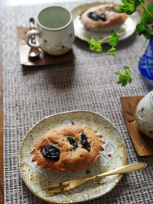プルーンと紅茶のケーキ