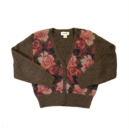 JH Collectibles Flower Cardigan ¥7,600+tax