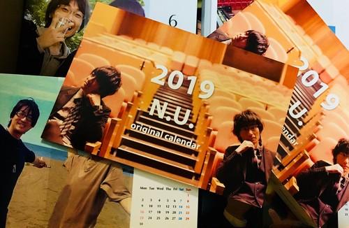 2019オリジナルカレンダー(ポストカードサイズ全13枚)