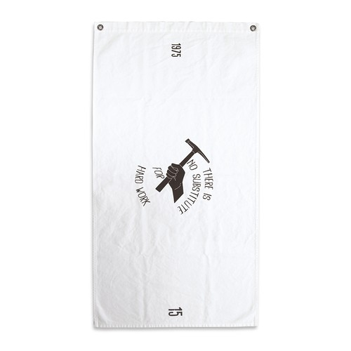 HEAVY-OX COTTON TAPESTRY / hummer wht