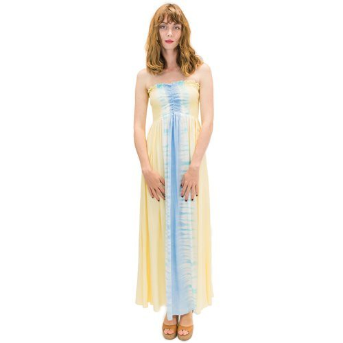 Angels by the sea/ Kula Long Dress In Bold