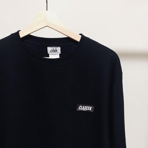 """マウンテンロゴ ロングスリーブTシャツ""""BLACK"""" Lサイズ"""