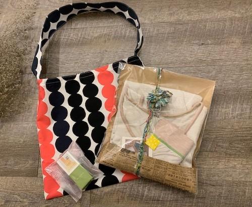 【HAPPY BAG】salviaおうちぱんつ&トップスセット/マリメッコトートバッグ入り