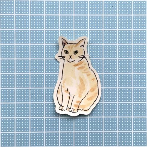【S04】ステッカー(calendarcat)