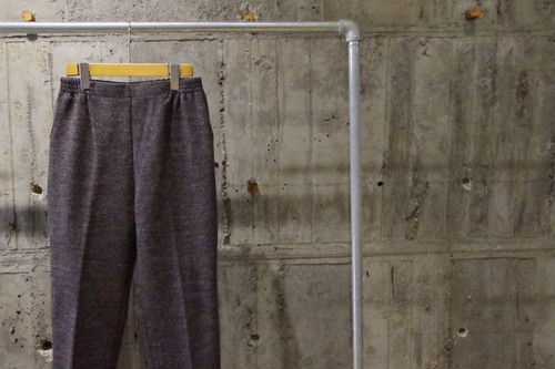 Design knit easy pants(USED)