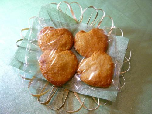 ハートケーキ (4個)