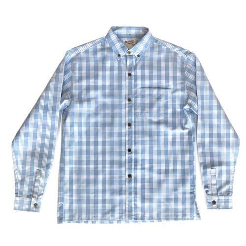 オリジナル パラカシャツ Men's ボタンダウン / サックスブルー