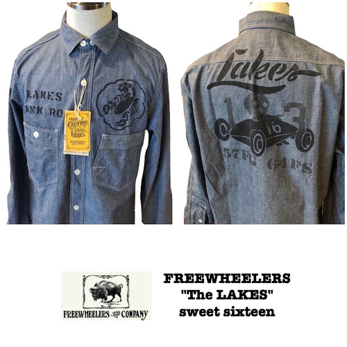 "FREEWHEELERS / フリーホイーラーズ UNION SPECIAL OVERALLS ""The LAKES"" Sweet Sixteen"
