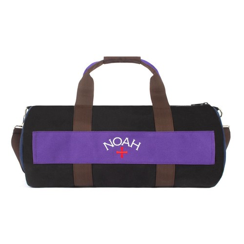 Color-Blocked Duffel(Black)