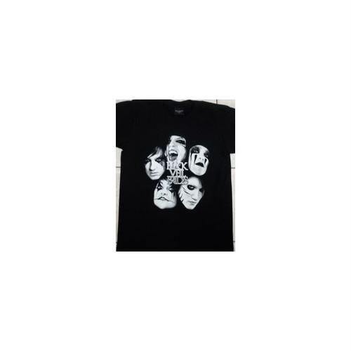 ブラック・ベイル・ブライズ Black Veil Brides グラム・メタルバンド プリントTシャツ