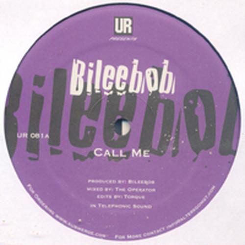 BILEEBOB - Call Me (12inch)