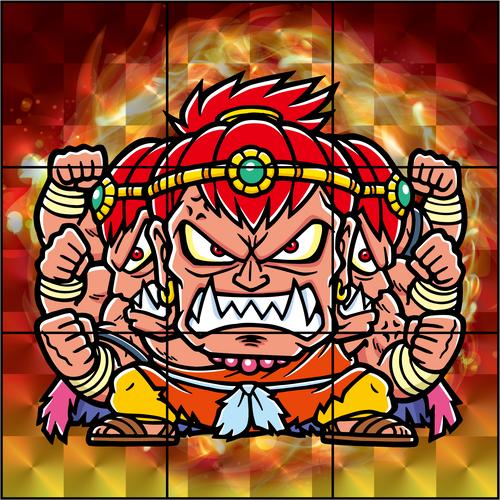 怒麺アスラ(9枚絵セット)
