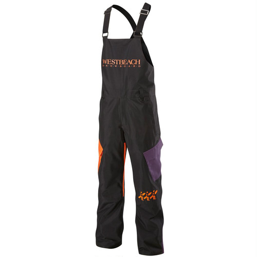 Kingman Bib Pant	Black