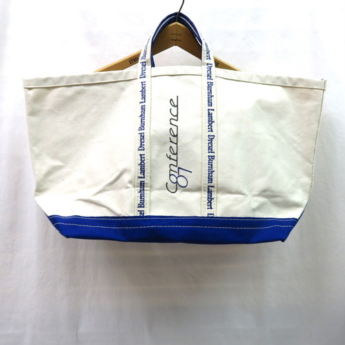 80's CANVAS TOTE BAG DEAD STOCK(キャンバストートバッグ デッドストック)