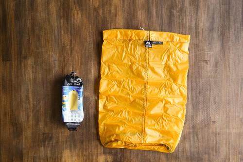 GRANITE GEAR AIR BAG #5 [11L] Yellow  グラナイトギア エアバッグ(スタッフバッグ)容量11リットル カラー: イエロー