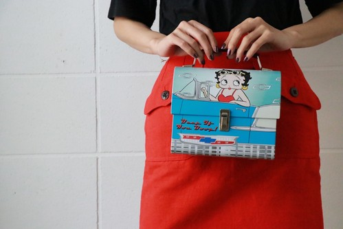 Betty Boop can bag