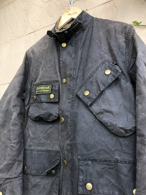 Old Barbour oiled jacket international