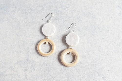 dubble circle pearl