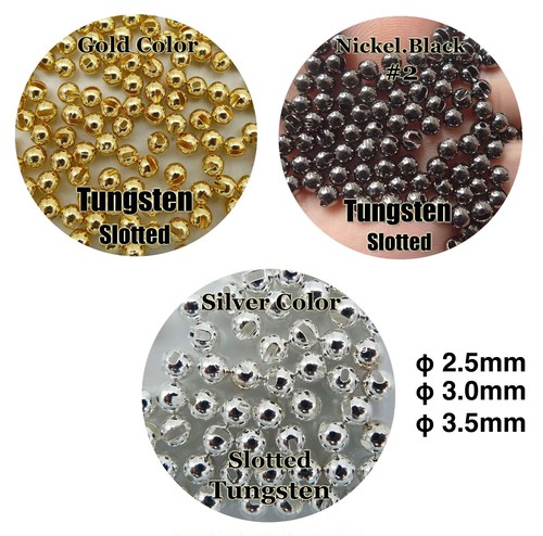 Tungsten Slotted Beads φ2.5mm