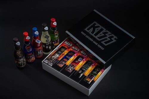 KISS「ロックレジェンズ酒シリーズ」5本セット 第1弾 オリジナルBOX付