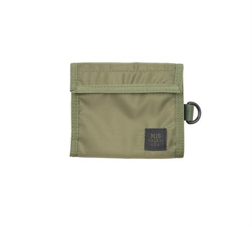 MIS-1034 FOLDING WALLET Packcloth_OLIVE