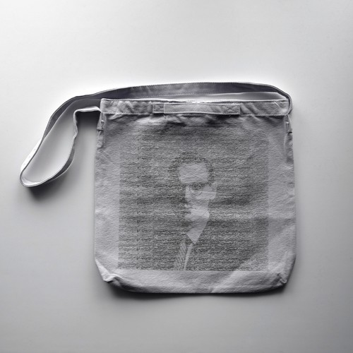 レコードバッグ ビルエバンス ・ portrait in jazz / Record size 2way bag - Bill Evans -