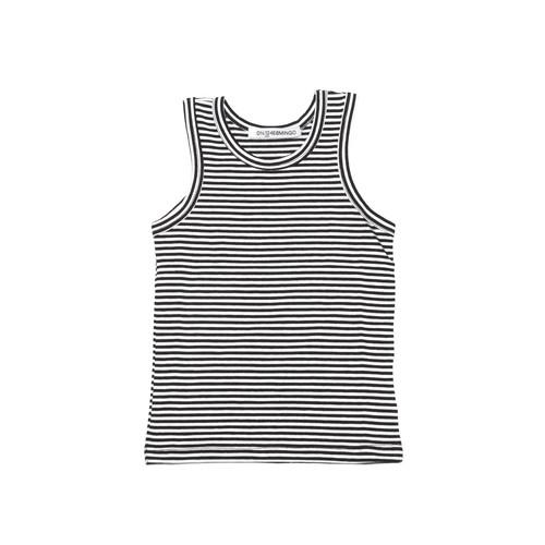 MINGO. Singlet B/W stripes