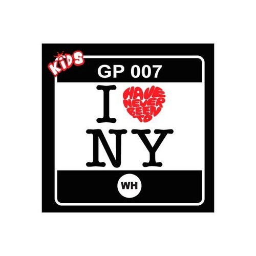 I LOVE NY (HAVE NEVER BEEN TO) プリント Tシャツ