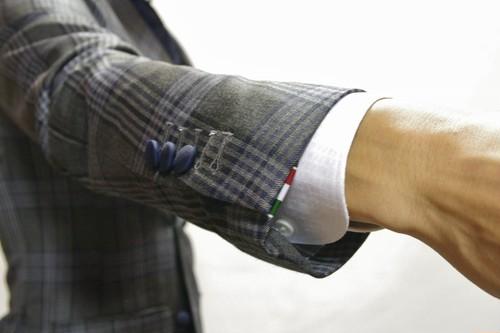 修理:本切羽仕上(本開き仕上)袖詰め・袖出し