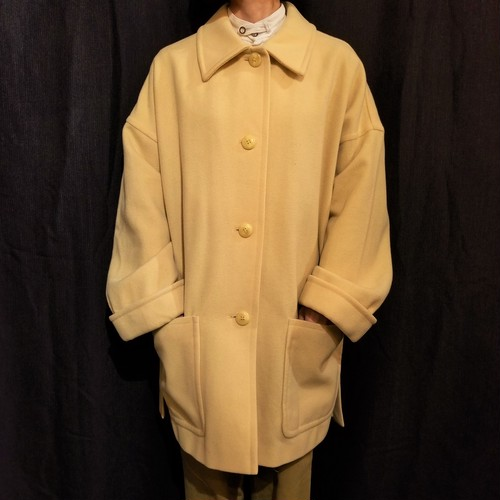 BROOKS BROTHERS Over size coat /Made In Belgium [1134]