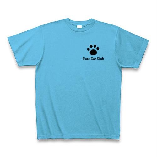 Cute Cat Club Tシャツ(シーブルー)