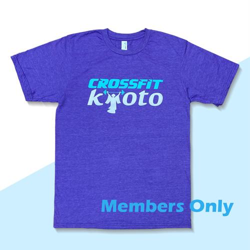【 Members Only】クロスフィット京都のロゴTシャツ [CrossFit Kyoto Logo T-shirts]
